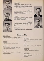 Page 44, 1952 Edition, North Quincy High School - Manet Yearbook (North Quincy, MA) online yearbook collection