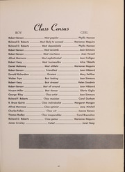 Page 45, 1952 Edition, North Quincy High School - Manet Yearbook (North Quincy, MA) online yearbook collection