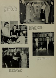 Page 16, 1955 Edition, North Quincy High School - Manet Yearbook (North Quincy, MA) online yearbook collection