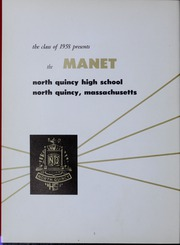 Page 6, 1958 Edition, North Quincy High School - Manet Yearbook (North Quincy, MA) online yearbook collection