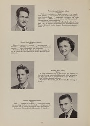 Page 16, 1957 Edition, Tewksbury High School - Scroll Yearbook (Tewksbury, MA) online yearbook collection