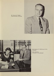 Page 9, 1957 Edition, Tewksbury High School - Scroll Yearbook (Tewksbury, MA) online yearbook collection