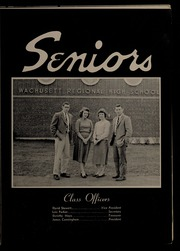 Page 15, 1958 Edition, Wachusett Regional High School - Wachusett Yearbook (Holden, MA) online yearbook collection