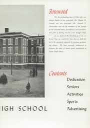 Page 13, 1946 Edition, Salem High School - Witch Yearbook (Salem, MA) online yearbook collection