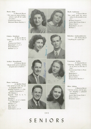 Page 16, 1946 Edition, Salem High School - Witch Yearbook (Salem, MA) online yearbook collection