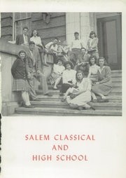 Page 5, 1946 Edition, Salem High School - Witch Yearbook (Salem, MA) online yearbook collection