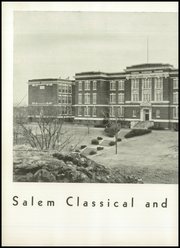 Page 12, 1951 Edition, Salem High School - Witch Yearbook (Salem, MA) online yearbook collection