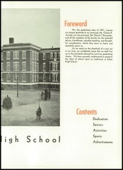Page 13, 1951 Edition, Salem High School - Witch Yearbook (Salem, MA) online yearbook collection