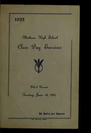 Page 7, 1935 Edition, Methuen High School - Memories Yearbook (Methuen, MA) online yearbook collection