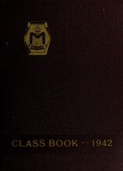 Page 1, 1942 Edition, Methuen High School - Memories Yearbook (Methuen, MA) online yearbook collection