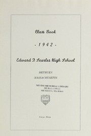 Page 9, 1942 Edition, Methuen High School - Memories Yearbook (Methuen, MA) online yearbook collection