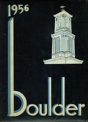 1956 Edition, Fitchburg High School - Boulder Yearbook (Fitchburg, MA)