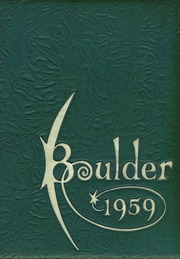 Page 1, 1959 Edition, Fitchburg High School - Boulder Yearbook (Fitchburg, MA) online yearbook collection