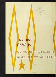 Page 4, 1960 Edition, Weymouth High School - Reflector Yearbook (Weymouth, MA) online yearbook collection