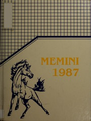 1987 Edition, Chicopee High School - Memini Yearbook (Chicopee, MA)