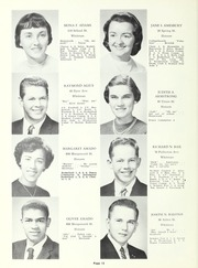 Page 16, 1960 Edition, Whitman Hanson Regional High School - Retrospect Yearbook (Whitman, MA) online yearbook collection