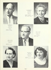 Page 9, 1960 Edition, Whitman Hanson Regional High School - Retrospect Yearbook (Whitman, MA) online yearbook collection