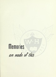 Page 5, 1961 Edition, Whitman Hanson Regional High School - Retrospect Yearbook (Whitman, MA) online yearbook collection