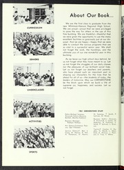 Page 8, 1961 Edition, Whitman Hanson Regional High School - Retrospect Yearbook (Whitman, MA) online yearbook collection