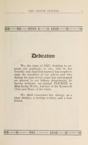 Page 7, 1927 Edition, Gloucester High School - Flicker Yearbook (Gloucester, MA) online yearbook collection