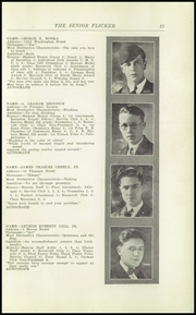 Page 17, 1928 Edition, Gloucester High School - Flicker Yearbook (Gloucester, MA) online yearbook collection
