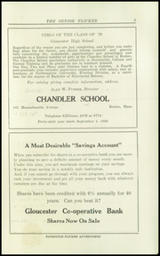 Page 7, 1929 Edition, Gloucester High School - Flicker Yearbook (Gloucester, MA) online yearbook collection