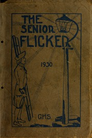 Gloucester High School - Flicker Yearbook (Gloucester, MA) online yearbook collection, 1930 Edition, Page 1