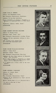 Page 17, 1930 Edition, Gloucester High School - Flicker Yearbook (Gloucester, MA) online yearbook collection