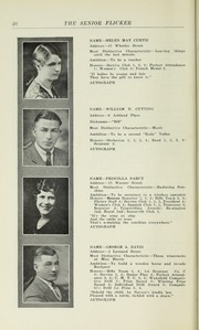 Page 22, 1930 Edition, Gloucester High School - Flicker Yearbook (Gloucester, MA) online yearbook collection