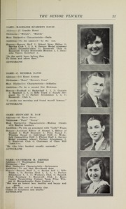 Page 23, 1930 Edition, Gloucester High School - Flicker Yearbook (Gloucester, MA) online yearbook collection