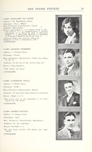 Page 25, 1930 Edition, Gloucester High School - Flicker Yearbook (Gloucester, MA) online yearbook collection