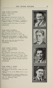 Page 29, 1930 Edition, Gloucester High School - Flicker Yearbook (Gloucester, MA) online yearbook collection