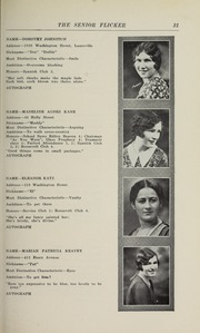 Page 33, 1930 Edition, Gloucester High School - Flicker Yearbook (Gloucester, MA) online yearbook collection