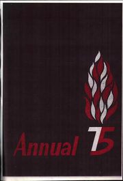 1975 Edition, Watertown High School - Annual Yearbook (Watertown, MA)