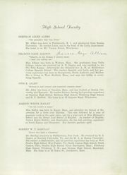 Page 9, 1931 Edition, Winchester High School - Aberjona Yearbook (Winchester, MA) online yearbook collection
