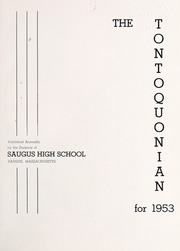 Page 5, 1953 Edition, Saugus High School - Tontoquonian Yearbook (Saugus, MA) online yearbook collection