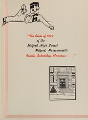 Page 5, 1947 Edition, Milford High School - Oak Lily and Ivy Yearbook (Milford, MA) online yearbook collection
