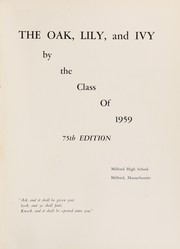 Page 5, 1959 Edition, Milford High School - Oak Lily and Ivy Yearbook (Milford, MA) online yearbook collection