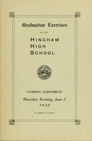 Page 15, 1948 Edition, Hingham High School - Highway Yearbook (Hingham, MA) online yearbook collection