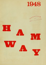 Page 3, 1948 Edition, Hingham High School - Highway Yearbook (Hingham, MA) online yearbook collection