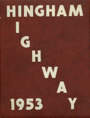 Page 1, 1953 Edition, Hingham High School - Highway Yearbook (Hingham, MA) online yearbook collection