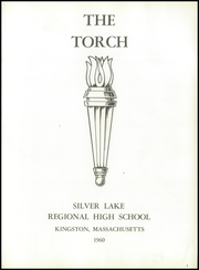 Page 5, 1960 Edition, Silver Lake Regional High School - Torch Yearbook (Kingston, MA) online yearbook collection