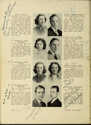 Page 14, 1938 Edition, Dedham High School - Reflections Yearbook (Dedham, MA) online yearbook collection