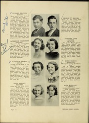 Page 16, 1938 Edition, Dedham High School - Reflections Yearbook (Dedham, MA) online yearbook collection