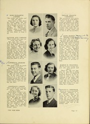 Page 17, 1938 Edition, Dedham High School - Reflections Yearbook (Dedham, MA) online yearbook collection