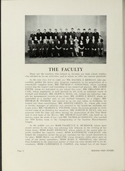 Page 10, 1939 Edition, Dedham High School - Reflections Yearbook (Dedham, MA) online yearbook collection