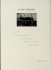 Page 14, 1939 Edition, Dedham High School - Reflections Yearbook (Dedham, MA) online yearbook collection