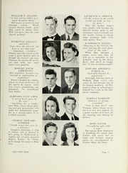 Page 15, 1939 Edition, Dedham High School - Reflections Yearbook (Dedham, MA) online yearbook collection
