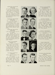 Page 16, 1939 Edition, Dedham High School - Reflections Yearbook (Dedham, MA) online yearbook collection