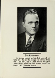 Page 8, 1939 Edition, Dedham High School - Reflections Yearbook (Dedham, MA) online yearbook collection